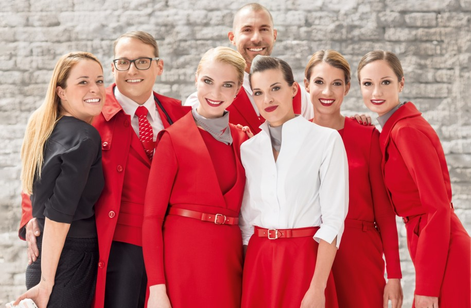Austrian Airlines Uniform