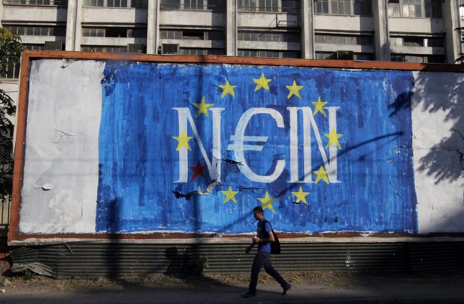 Griechenland Krise Grexit Problem Brexit