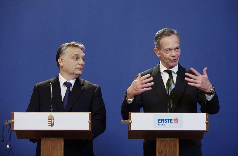 Erste Group Deal von Treichl in Ungran verzögert sich