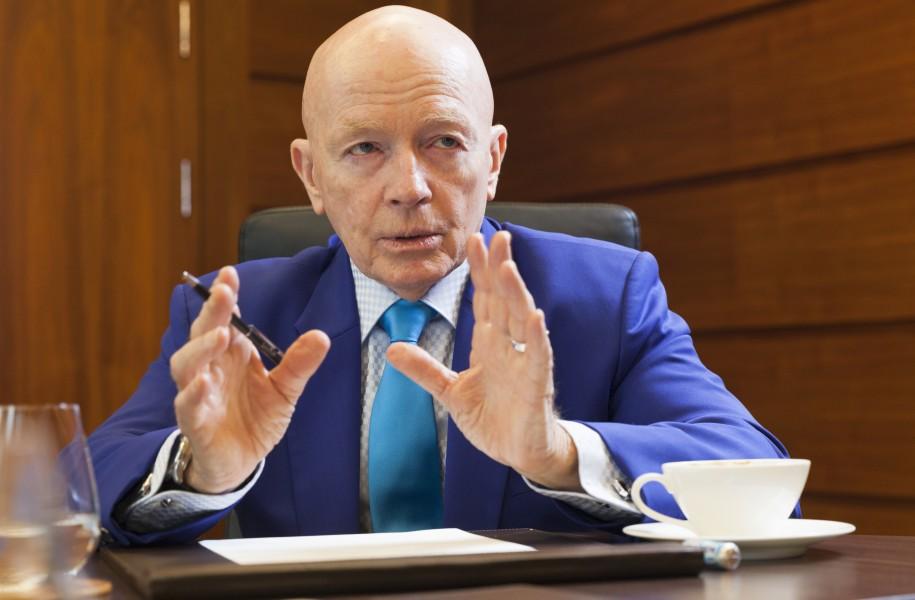 Mark Mobius Asien Fonds tritt ab