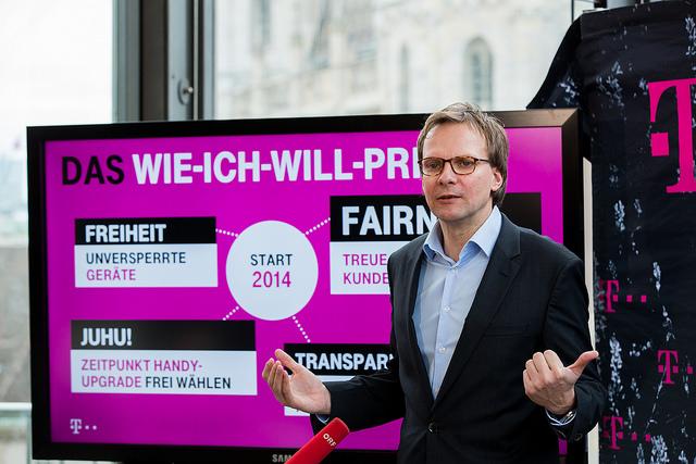 T-Mobile Chef Bierwirth gegen Post Chef Pölzl