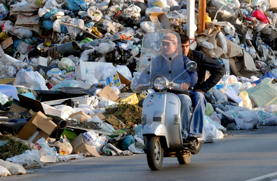 EVN-Italien-Rom-Müllentsorgung