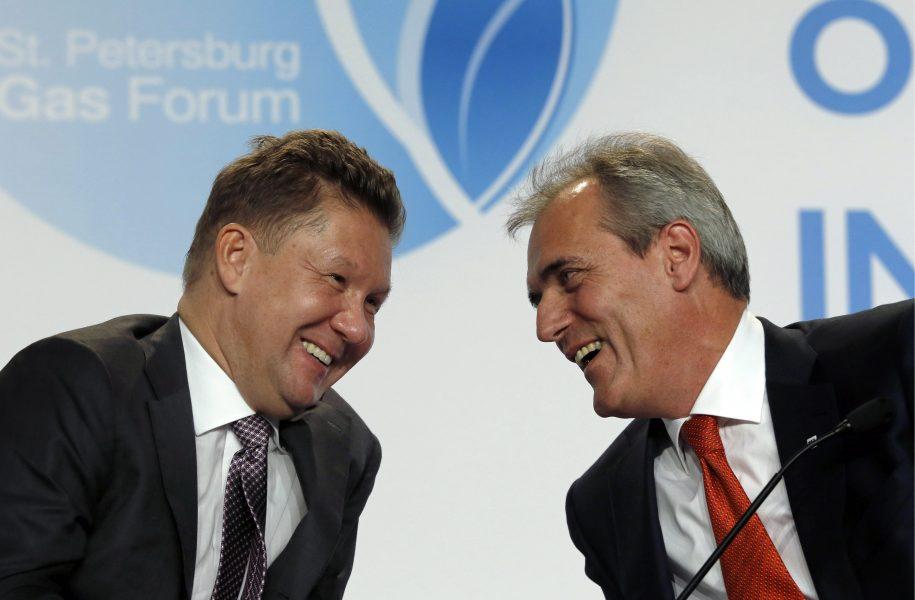 OMV Asset Deal Gazprom