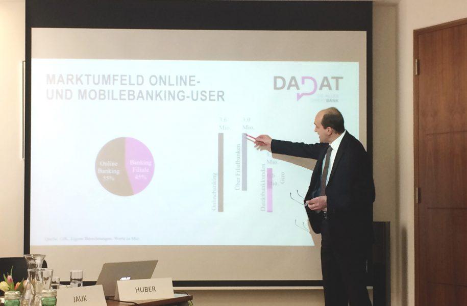 Da neue Onlinebank Ernst Huber