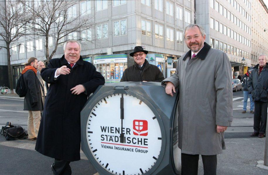 Sponsoring Würfeluhren Wien