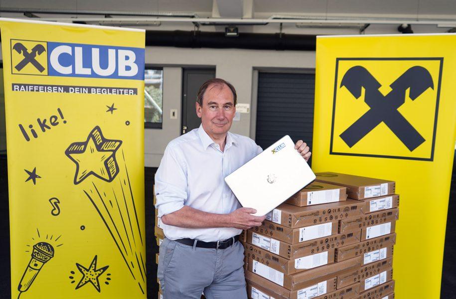 Raiffeisen Steiermark Schaller Schüler Laptops