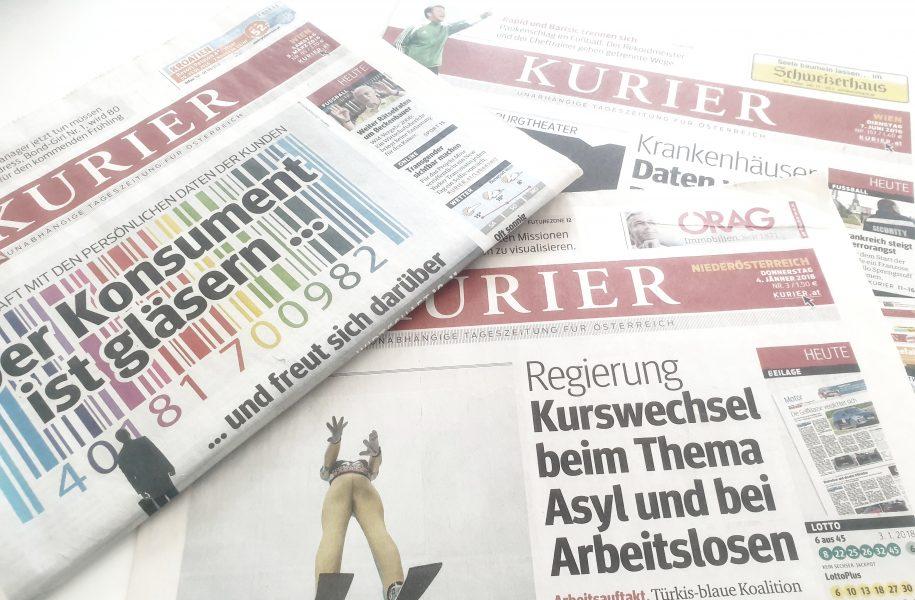 Kurier Medien Journalisten Corona Kischko