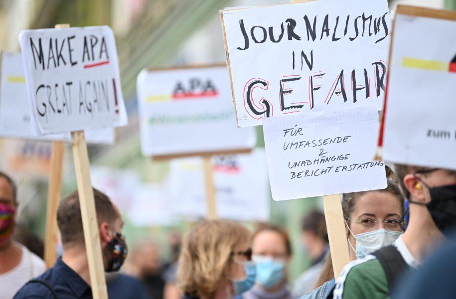 APA Wirtschaft redaktion Proteste