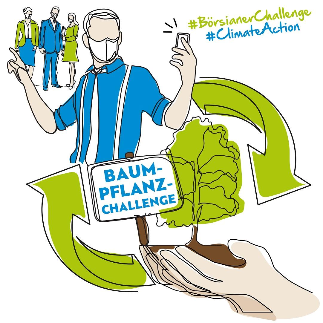 Börsianer Baum Pflanz Challenge