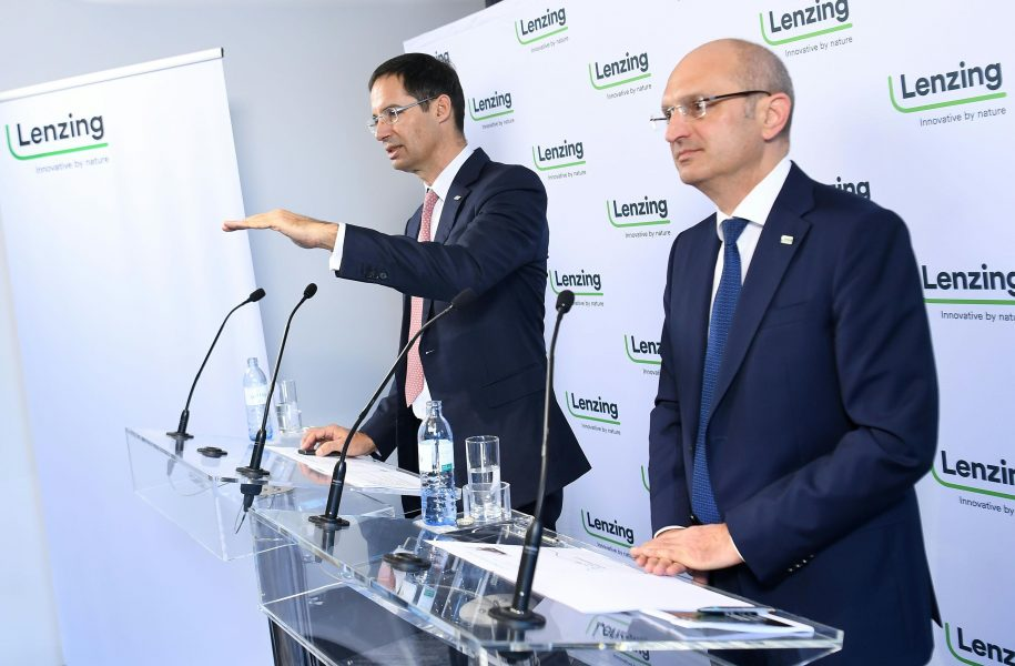 Lenzing PK Vorstand CEO Hygiene Austria